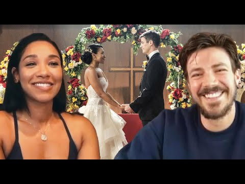 The Flash: Watch Grant Gustin ASK Candice Patton If WestAllen Should Renew Their Vows In Season 7!