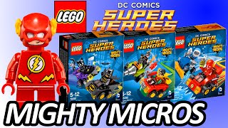 LEGO DC Comics Mighty Micros 2016 Sets Pictures - Batman, Robin, The Flash
