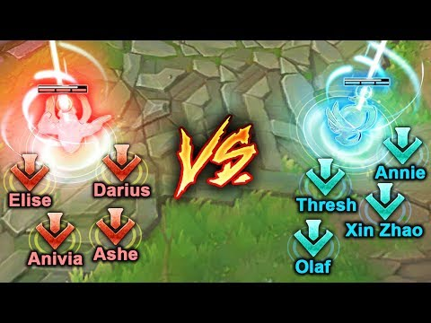 THE ULTIMATE GLOBAL SHOWDOWN - Insane Global Moments - League of Legends