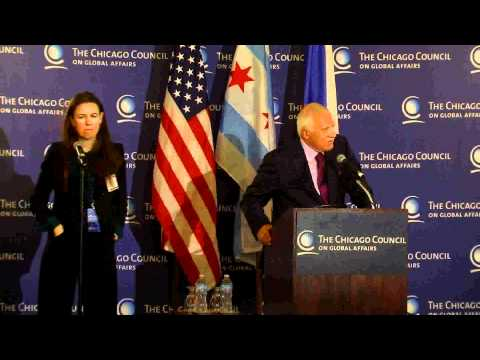 Václav Klaus at The Chicago Council on Global Affairs