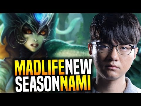 Madlife is Ready for New Season Playing Nami Support! - Madlife Plays Nami Patch 7.22!