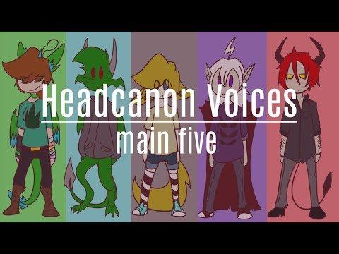 Headcanon Voices (GANG38-KOV)