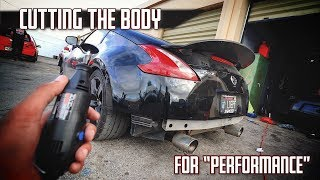 "CUTTING Up My Car For ""PeRfOrMaNcE"" 