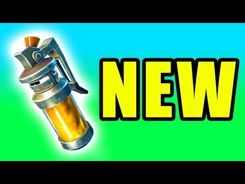 NEW Stink Bomb! ⚠️ Fortnite Battle Royale New Stink Bomb Gameplay PC