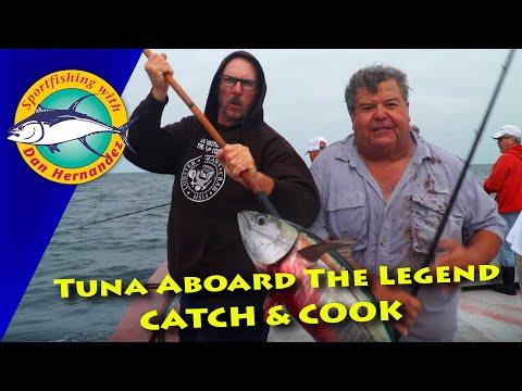 Catching Tuna Aboard The Legend - Catch & Cook