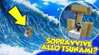 Minecraft ITA - La NOSTRA barca CONTRO lo TSUNAMI!! - W/Lyon