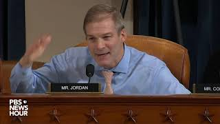 WATCH: Rep. Jim Jordan's full questioning of Volker and Morrison | Trump impeachment hearings
