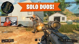 GOING SOLO ON DUOS!   Black Ops 4 Blackout   PS4 Pro
