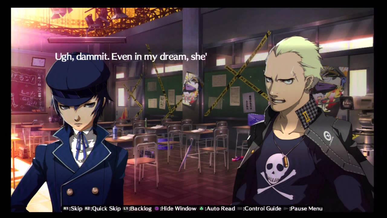 Persona 4 The Animation Wallpaper 48 Persona 4 Arena Story Walkthrough Hd Ps3 Kanji Tatsumi