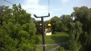 Toronto Centre Island - Sky Ride, Attractions Toronto - GoPro HD