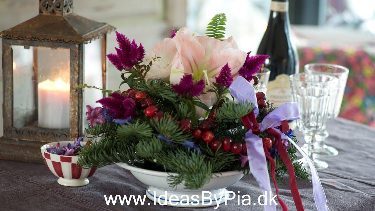 Nem og fantasifuld blomster dekoration - YouTube