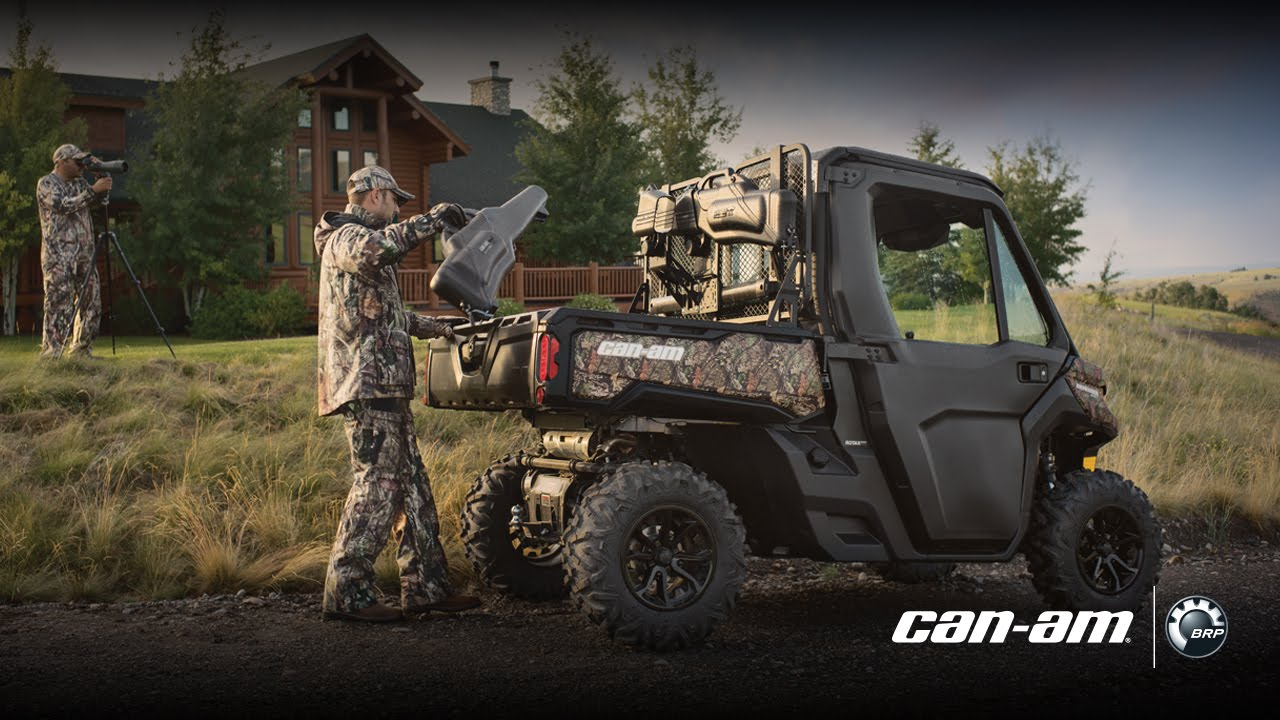 Hunting Accessories For Can Am Defender Side By Side