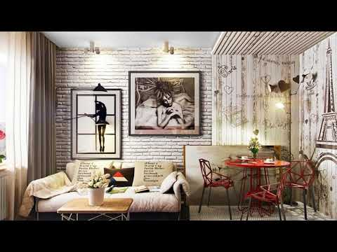 🔝 Brick Wall Decoration Wallpaper Design Ideas | Easy DIY Decal Exposed Living Bed room House 2018