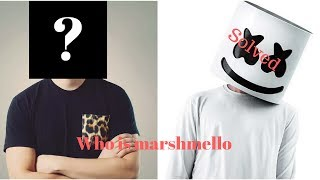 Marshmello revealed! who is Marshmello **voice proof**