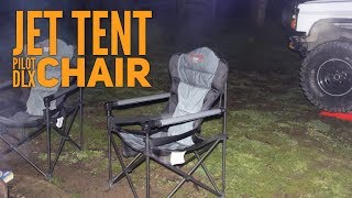 A look at our favourie Camping Chairs - Oztent - Jet Tent Pilot Chair DLX
