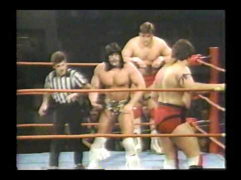 Rocky DellaSerra & The Spoiler vs  Sunny War Cloud & Tony Gatillo (February 7, 1987)