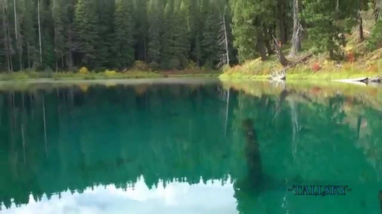 Beautiful Clear Lake In Pacific Northwest Usa Youtube