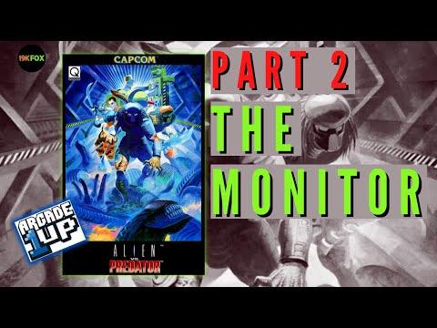 Arcade1up Alien Vs Predator Build - Part 2 from 19kfox