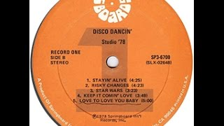 "DISC COVER BAND SPOTLIGHT: ""Disco Dancin'"" by Studio '78 (Record One/B) (1978)"