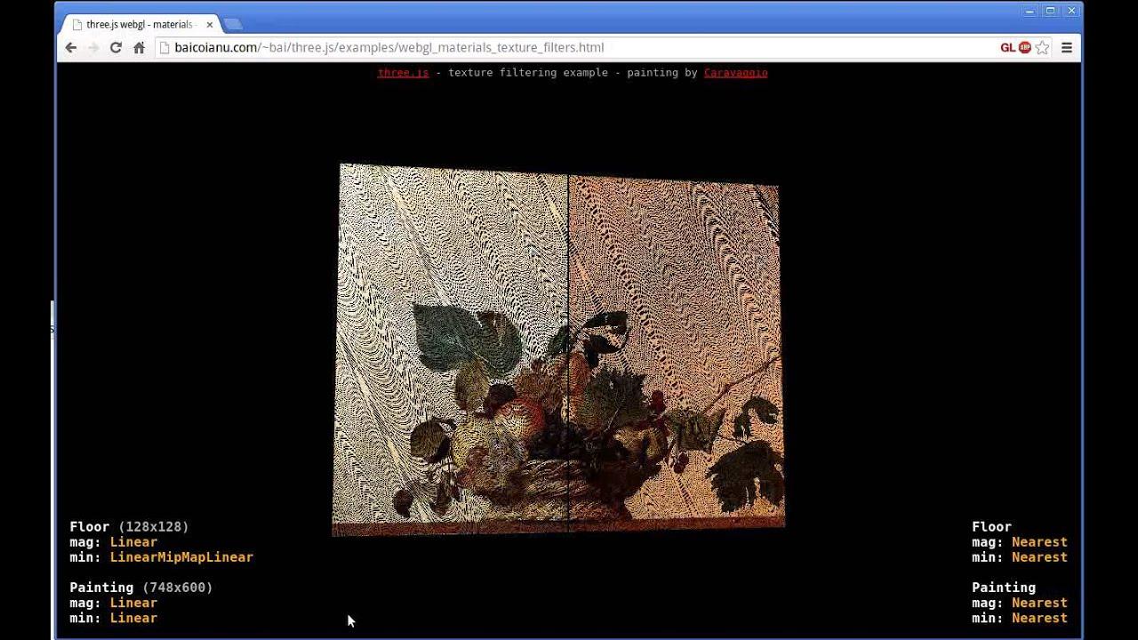 WebGL logarithmic depth buffer bug - texture distortion
