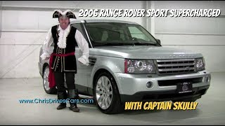 """Throwback"" Thursday - 2006 Range Rover Sport Supercharged with Captain Skully"