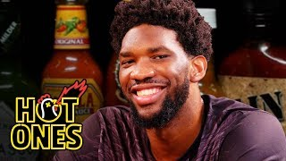 Joel Embiid Trusts the Process While Eating Spicy Wings | Hot Ones thumbnail