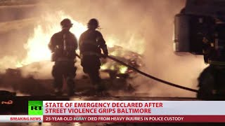 National Guard deployed in Baltimore - Alexey Yaroshevsky reports from scene