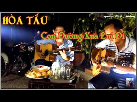 Con đường xưa em đi * HÒA TẤU guitar Lâm_Thông * Ducmanh_guitar bolero _youtube