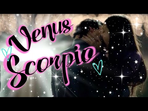 dating a venus in scorpio man