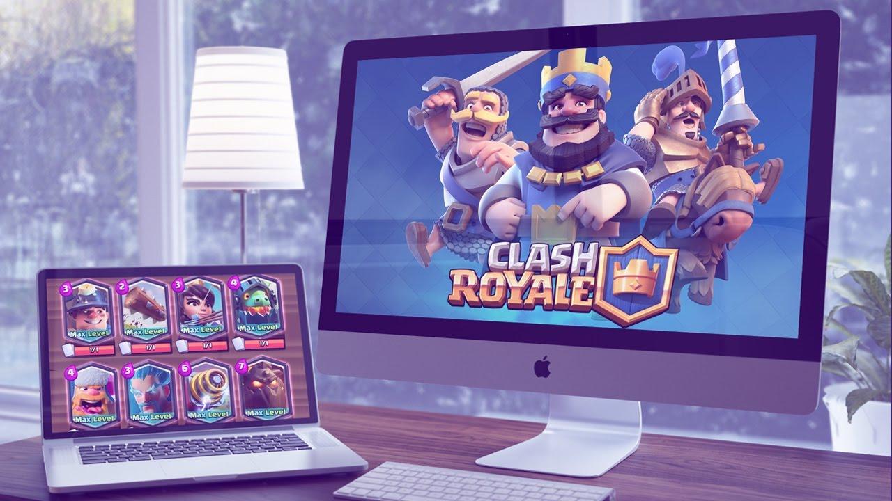 как играть clash royale на пк