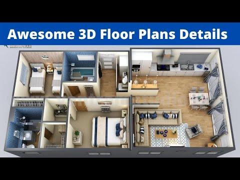 3d House Plan 3d House Plan Design 3d House Plans 3 Bedroom House Plans 3d 3d Plans 2021 Youtube