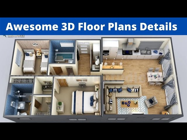 3d House Plan 3d House Plan Design 3d House Plans 3 Bedroom House Plans 3d 3d Plans Youtube