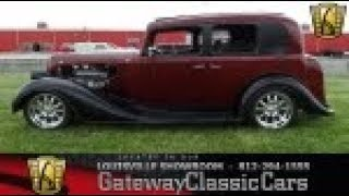 1935 Buick 4 Dr Series 40 - Louisville - Stock #1833