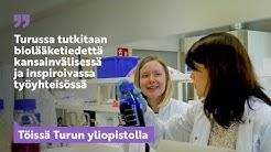 Turussa tutkitaan biolääketiedettä kansainvälisessä ja inspiroivassa työyhteisössä