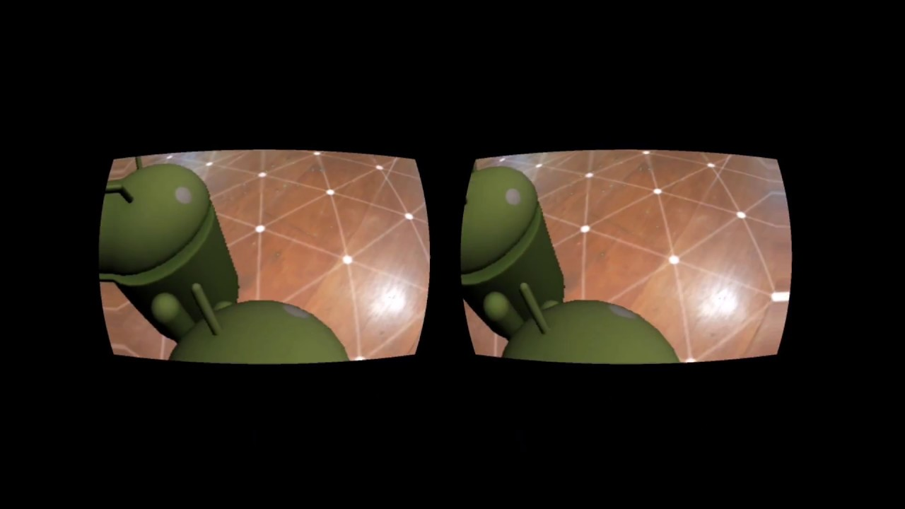 ARCORE 6DOF with Google Cardboard stereo vision
