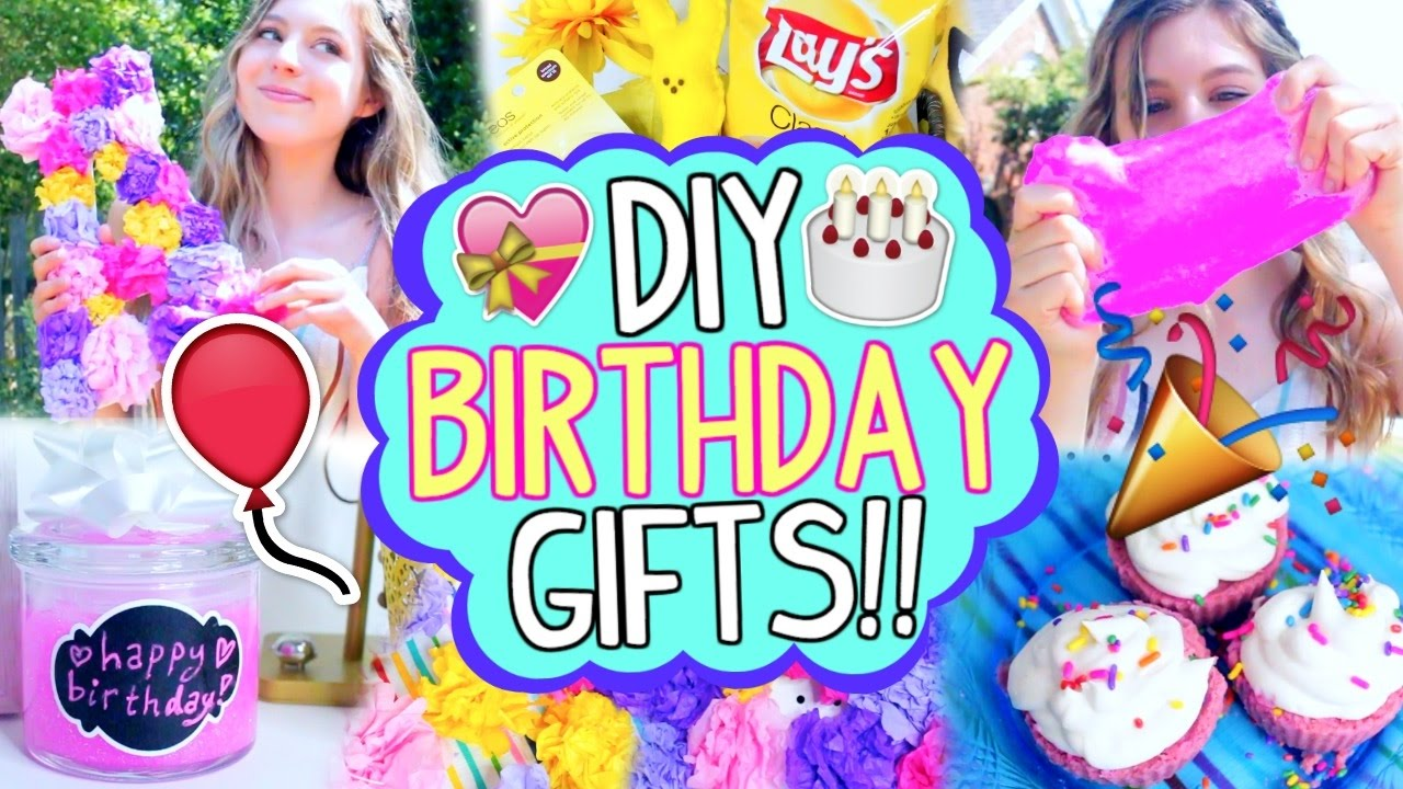 DIY Birthday Gifts For Your Best Friend