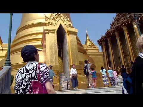 Exploring the Grand Palace, Bangkok, Thailand