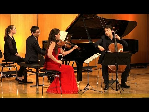 JOSEPH JOACHIM Chamber Music Competition: Amatis Piano Trio plays Haydn Piano Trio C major