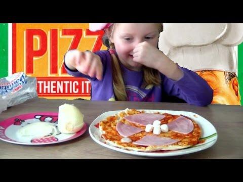 PIZZA CHALLENGE : Papa vas t'il gouter aussi ?