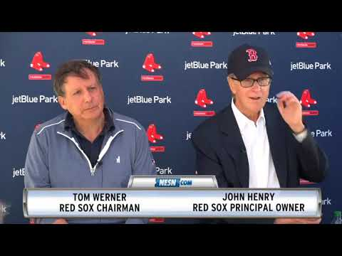 John Henry And Tom Werner Spring Training News Conference