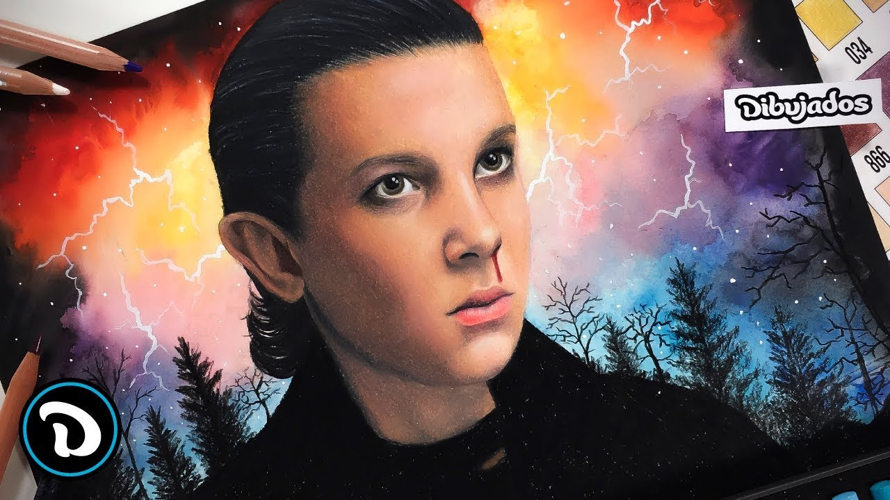 Eleven - STRANGER THINGS | Speed Drawings