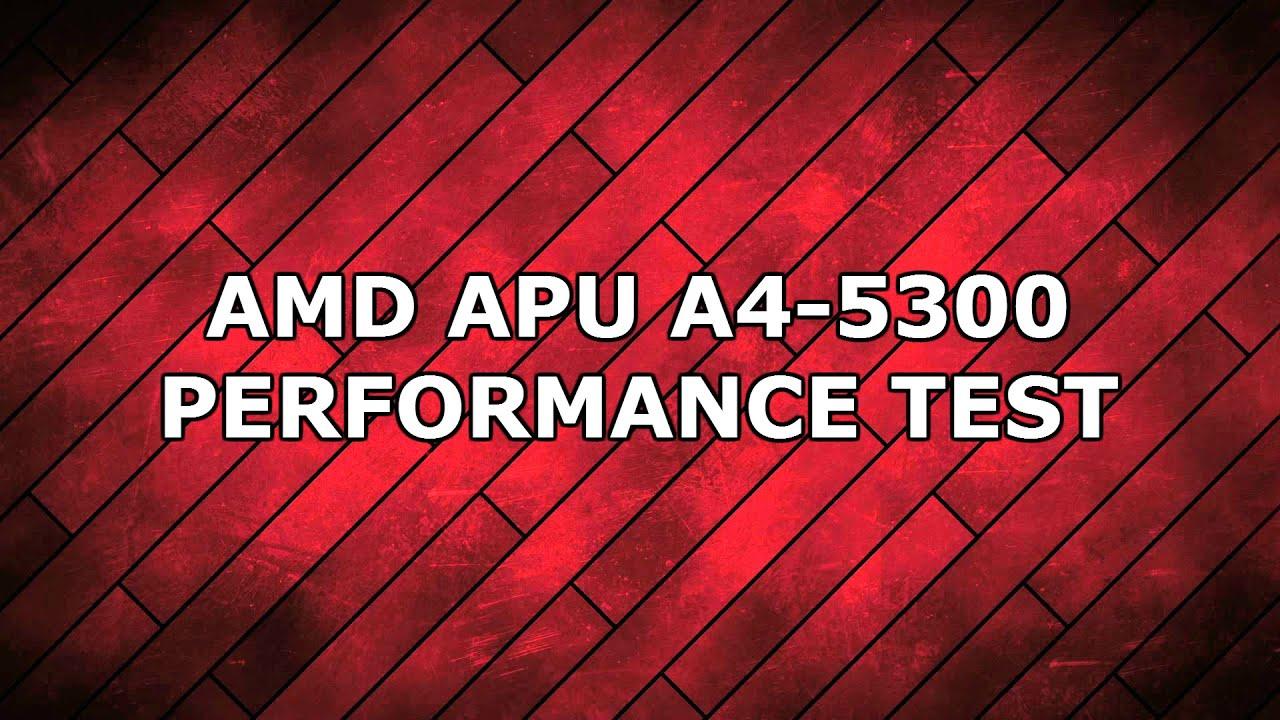 Gta 5 Amd Apu A4 5300 Test Youtube