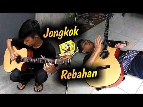 Lagu SPONGEBOB Versi 5 POSISI Main Gitar