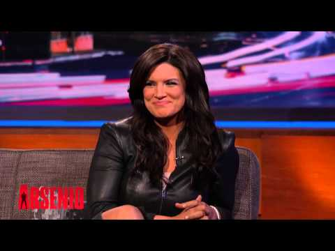Gina Carano on The Arsenio Hall Show part.2 03.04.2014