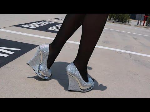 review-walking-in-pleaser-razzle-rhinestone-5.5-inch-wedge-high-heel-shoes