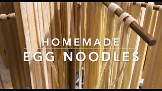 How to make egg noodles for the pantry; Preserving Eggs