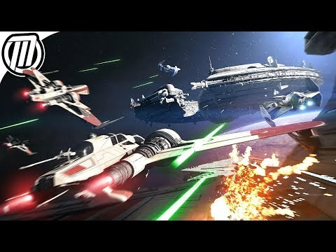 Star Wars Battlefront 2: Starfigher Dogfights - Gameplay Live Stream