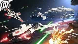 Star Wars Battlefront 2: Starfigher Dogfights - Gameplay Live Stream