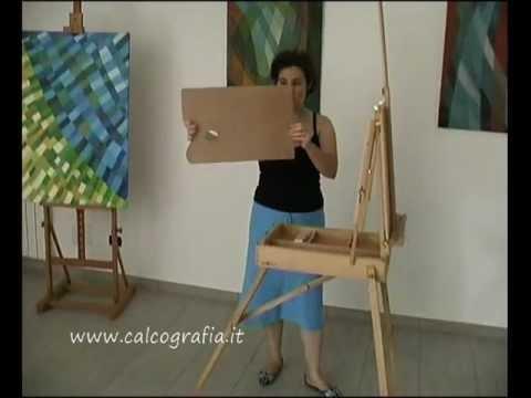 Cassetta cavalletto per pittore youtube for Cavalletto pittore