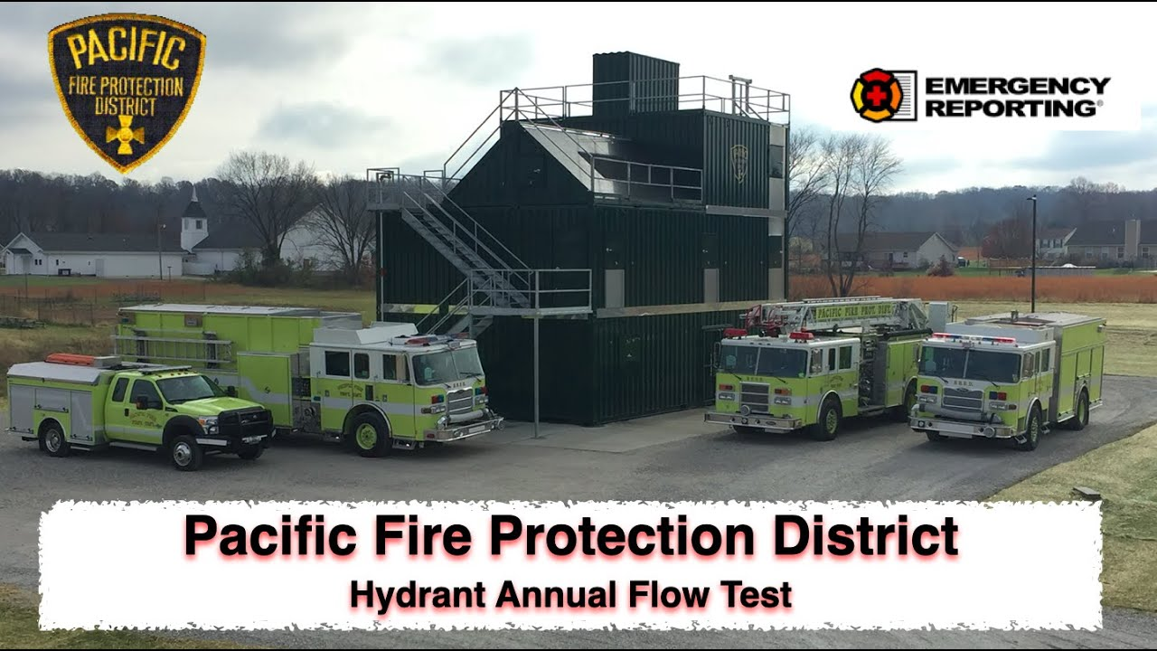 Entering Hydrant Flow Test in Emergency Reporting